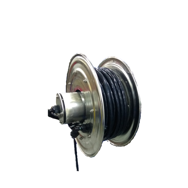 Crane cable reel | Spring loaded retractable cable reel ESSC410F