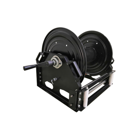 Outdoor extension cord reel | 50 amp cable reel AMSC370D