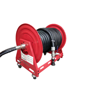 Water hose reel on wheels | Portable hose reel on wheels AMSH500D