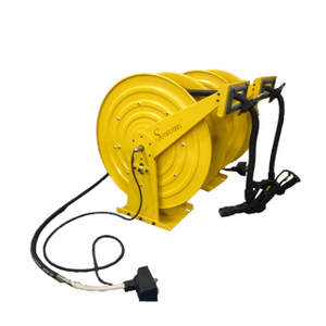 Hose reel with hose | 4 conductor cable reel ASMO660D