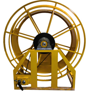 Industrial retractable hose reel | Large frame reel AESH1800D